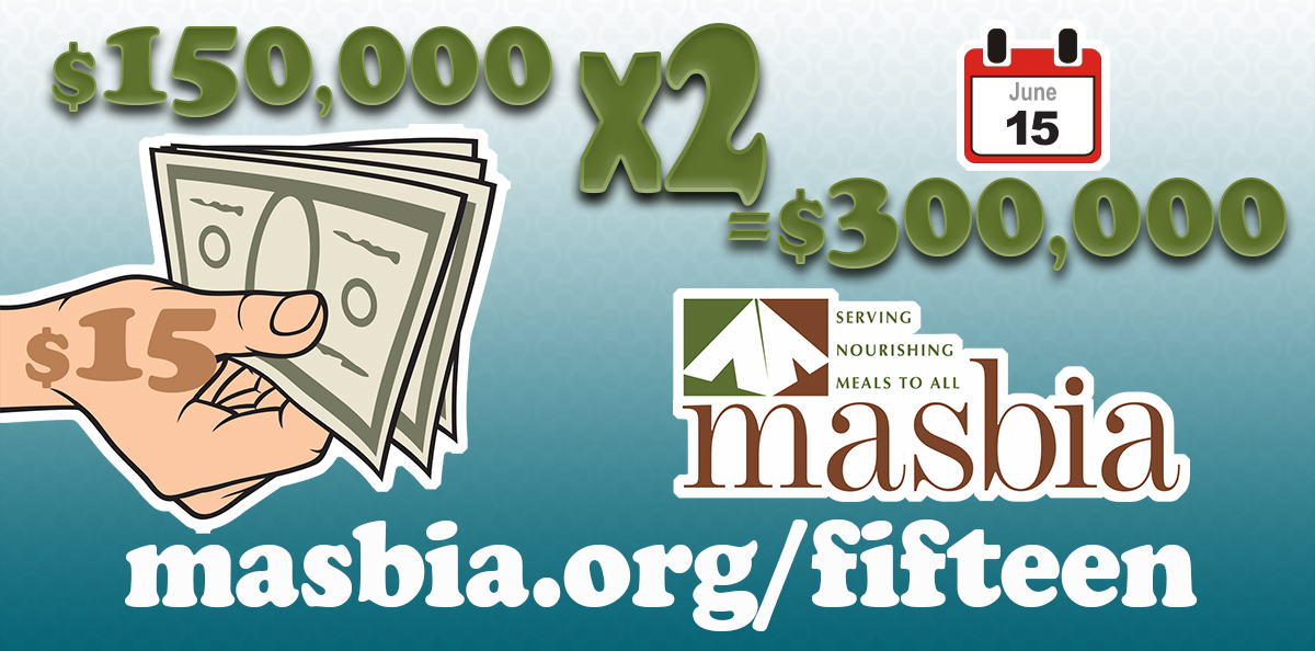 Double Your Impact: Donate just $15 for a chance to give Masbia Soup Kitchen $300,000