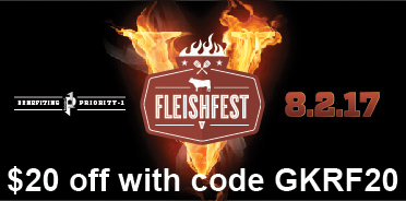 Get $20 off Fleishfest; Huge BBQ Charity Event