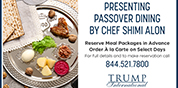 Pesach in Florida at Trump Hotel Sunny Isles