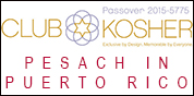 Club Kosher - Pesach in Puerto Rico