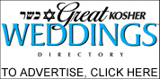 Advertise with Great Kosher Weddings Directory