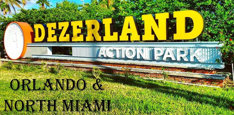 Dezerland Park in Orlando & North Miami