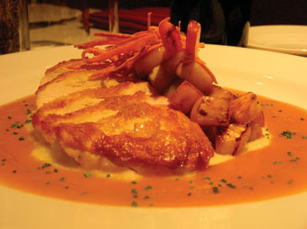 Chef Mike Gershkovich's Pan Roasted Chicken Breast served ...