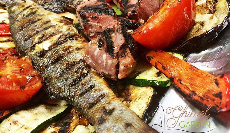 Ghimel garden great kosher restaurants for Jewish fish dish