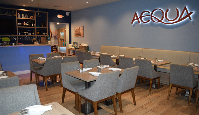 Acqua Great Kosher Restaurants